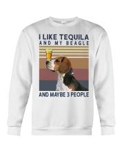 Tequila and Beagle kp Crewneck Sweatshirt thumbnail