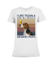 Tequila and Beagle kp Premium Fit Ladies Tee thumbnail