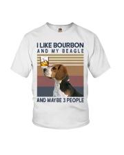 Bourbon and Beagle kp Youth T-Shirt thumbnail