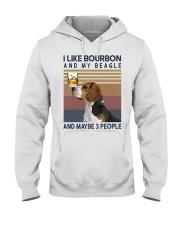 Bourbon and Beagle kp Hooded Sweatshirt thumbnail