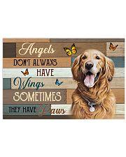 Angels Golden Retriever 17x11 Poster thumbnail