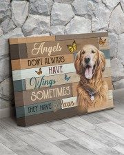 Angels Golden Retriever 14x11 Gallery Wrapped Canvas Prints aos-canvas-pgw-14x11-lifestyle-front-13