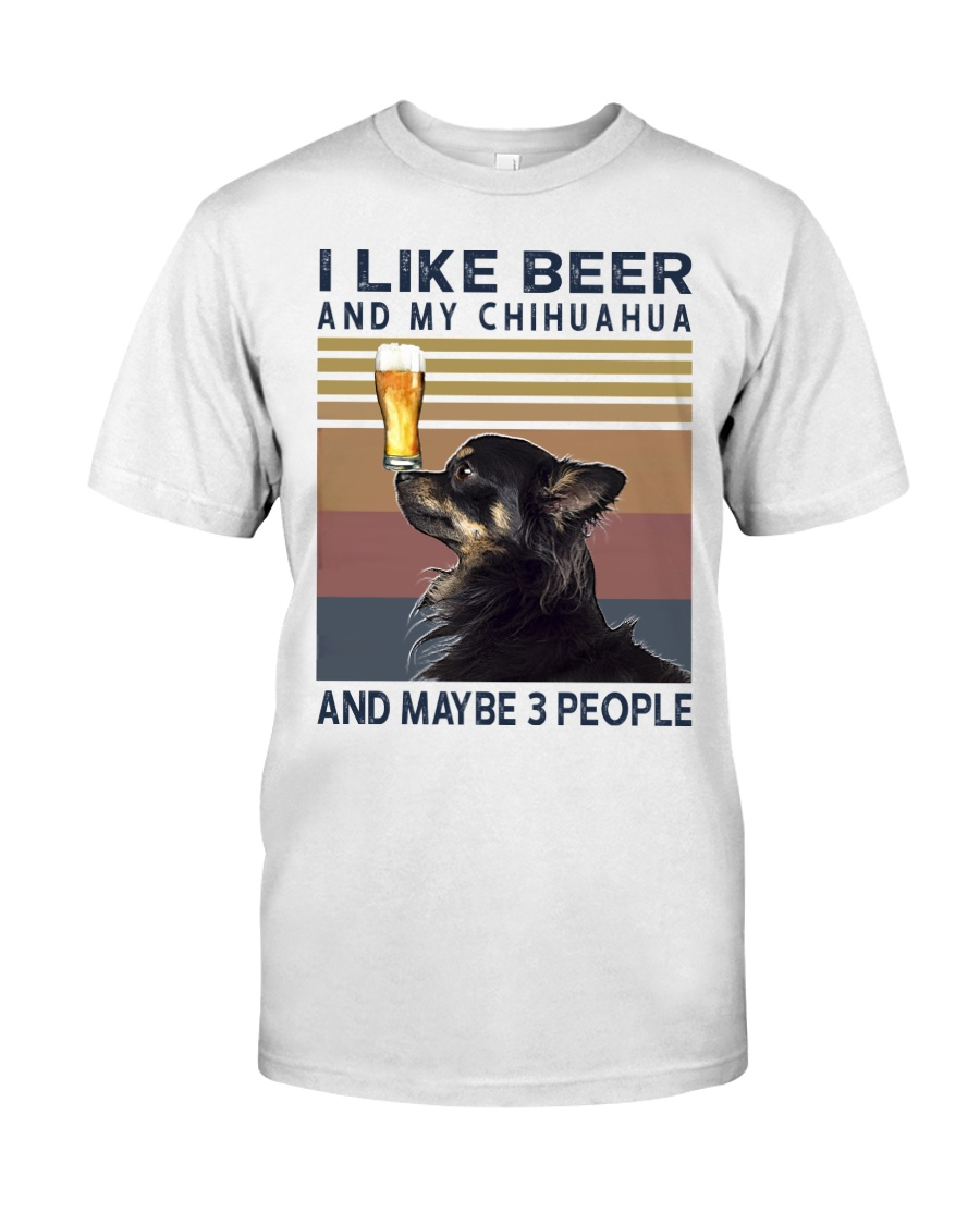 Beer and Chihuahua hp Classic T-Shirt
