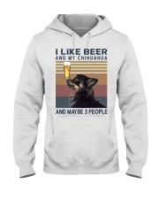 Beer and Chihuahua hp Hooded Sweatshirt thumbnail
