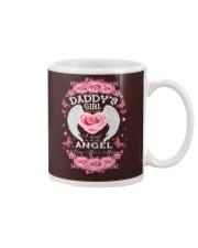 Daddy's Girl Angel Black Mug thumbnail