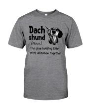 Dachshund 2020 Classic T-Shirt front