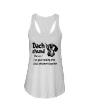 Dachshund 2020 Ladies Flowy Tank thumbnail