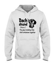 Dachshund 2020 Hooded Sweatshirt thumbnail