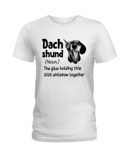 Dachshund 2020 Ladies T-Shirt thumbnail