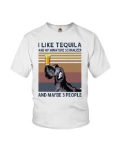 Tequila and Miniature Schnauzer Youth T-Shirt thumbnail