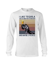 Tequila and Miniature Schnauzer Long Sleeve Tee thumbnail