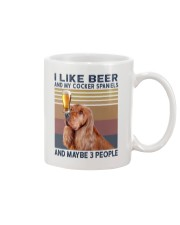 Beer and English Cocker spaniels Mug thumbnail