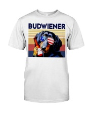 Budwiener Dachshund Classic T-Shirt front