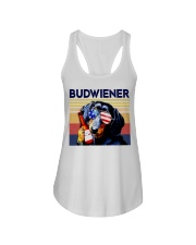 Budwiener Dachshund Ladies Flowy Tank thumbnail