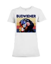 Budwiener Dachshund Premium Fit Ladies Tee thumbnail