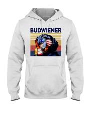 Budwiener Dachshund Hooded Sweatshirt thumbnail