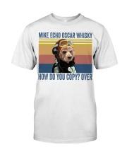 American Cocker Spaniel Mike Echo Classic T-Shirt front