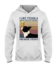 Tequila and Boston Terriers Hooded Sweatshirt thumbnail