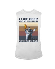 Beer and Chihuahua Sleeveless Tee thumbnail