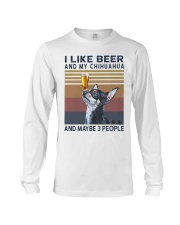 Beer and Chihuahua Long Sleeve Tee thumbnail
