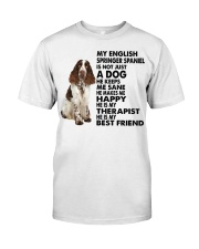 My English Springer Spaniel Classic T-Shirt front