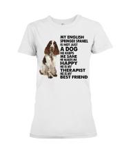My English Springer Spaniel Premium Fit Ladies Tee thumbnail