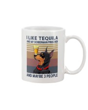 Tequila and Doberman Pinscher Mug thumbnail