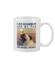 Bourbon and Pug Mug thumbnail