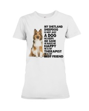 My Shetland Sheepdog Premium Fit Ladies Tee thumbnail