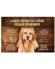 Visit home Labrador Retriever 17x11 Poster thumbnail