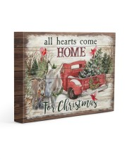 Home Donkeys 14x11 Gallery Wrapped Canvas Prints front
