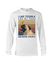 Tequila and Pugs Long Sleeve Tee thumbnail