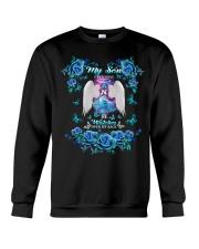 My Son Angel Blue Crewneck Sweatshirt thumbnail