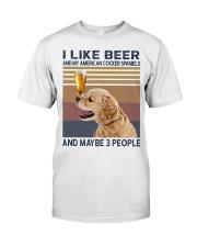 Beer and American Cocker Spaniels Premium Fit Mens Tee thumbnail