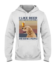 Beer and American Cocker Spaniels Hooded Sweatshirt thumbnail