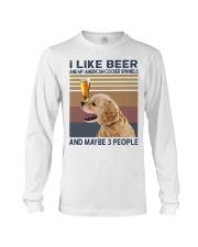 Beer and American Cocker Spaniels Long Sleeve Tee thumbnail