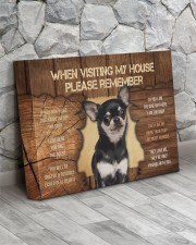 Visit home Chihuhua 14x11 Gallery Wrapped Canvas Prints aos-canvas-pgw-14x11-lifestyle-front-13