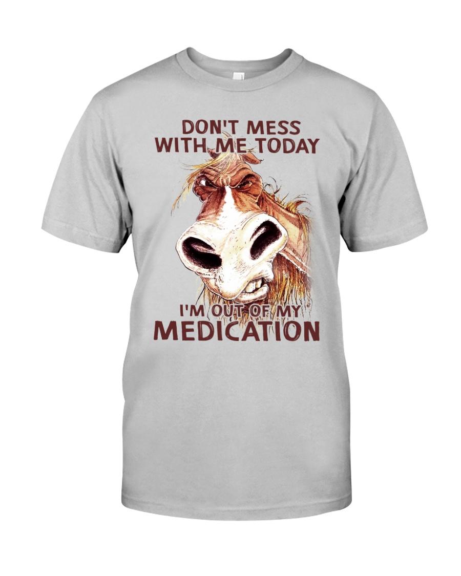 HORSE NO MEDICATION Classic T-Shirt
