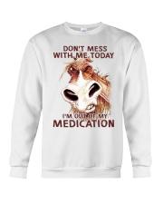 HORSE NO MEDICATION Crewneck Sweatshirt thumbnail