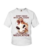 HORSE NO MEDICATION Youth T-Shirt thumbnail