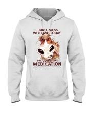 HORSE NO MEDICATION Hooded Sweatshirt thumbnail