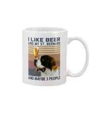 Beer and Saint Bernard Mug thumbnail
