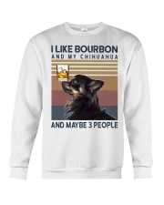 Bourbon and Chihuahua kp Crewneck Sweatshirt thumbnail