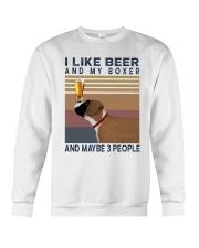 Beer and Boxer Crewneck Sweatshirt thumbnail