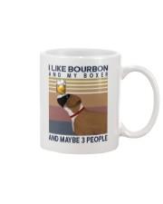 Bourbon and boxer Mug thumbnail