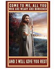 Jesus-rest Vertical Poster tile
