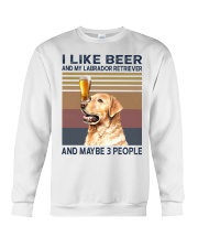 beer and Labrador Crewneck Sweatshirt thumbnail