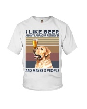 beer and Labrador Youth T-Shirt thumbnail
