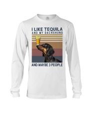 Tequila and Dachshund Long Sleeve Tee thumbnail