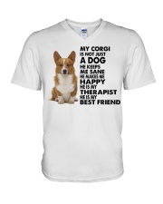 My CORGI V-Neck T-Shirt thumbnail